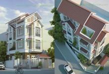 Thiết kế nhà phố Bình Dương