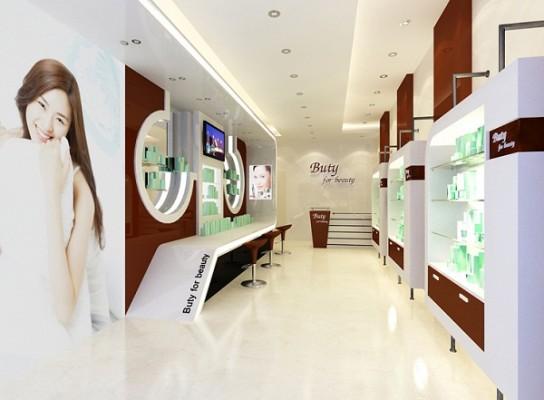 thiet ke showroom my pham 3