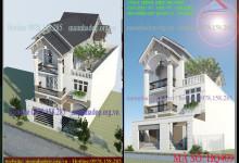 Mẫu thiết kế nhà phố đẹp anh Vũ quận 12