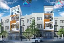 Thiết kế nhà phố 4 tầng 4x10m tại Bình Thạnh