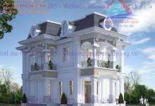 Thiết kế biệt thự tại Long An