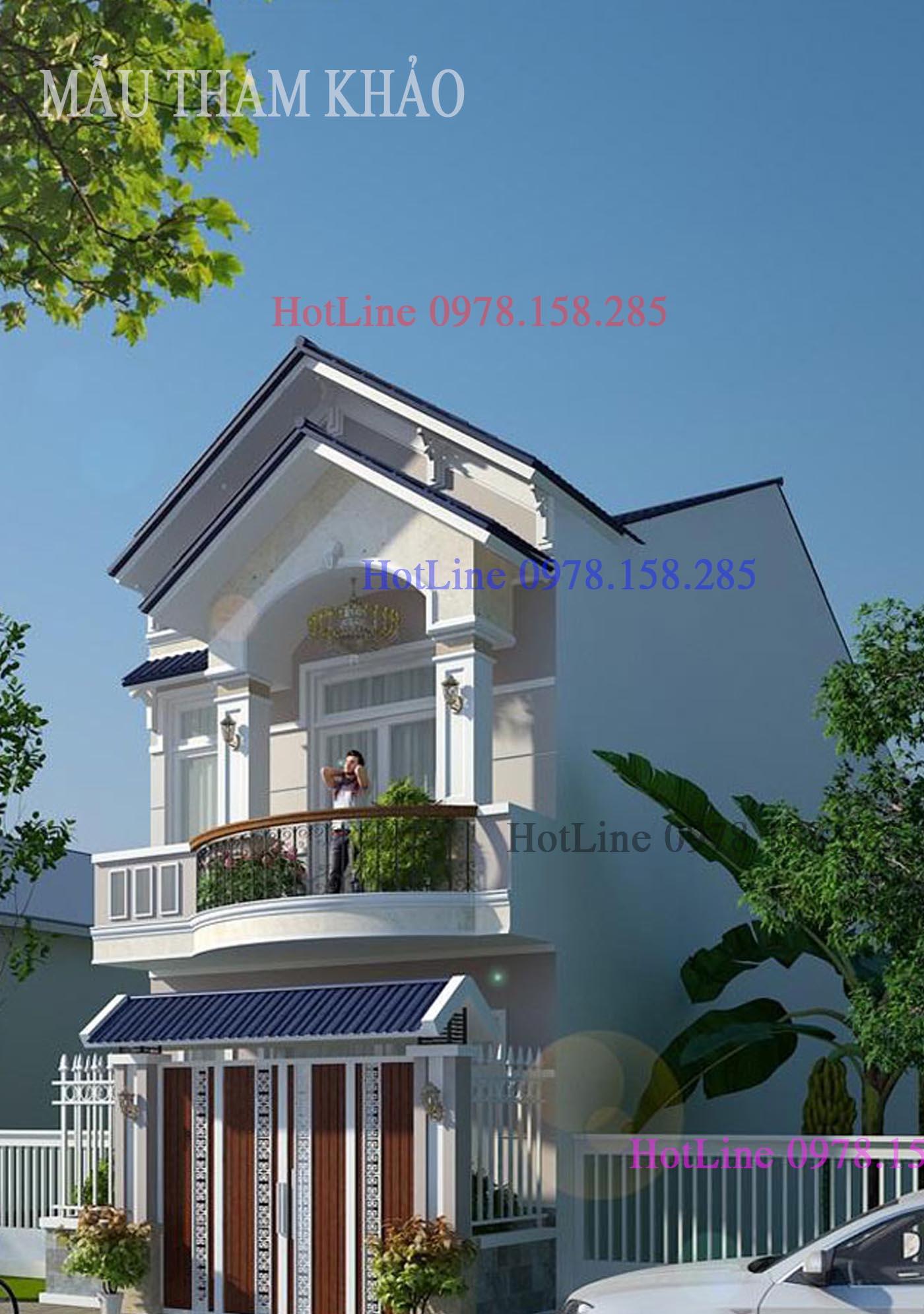 mẫu nhà đẹp 2 tầng (8)