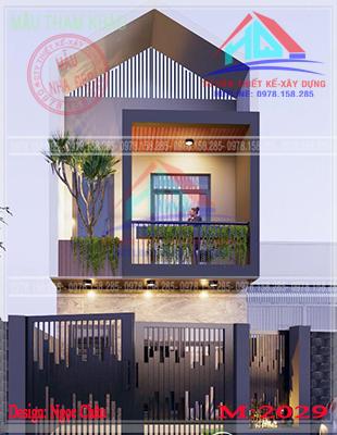 nhà phố 2 tầng đẹp (11)