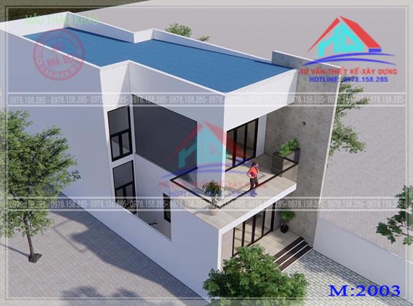 nhà phố 2 tầng đẹp (2)