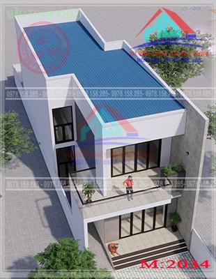nhà phố 2 tầng đẹp (22)