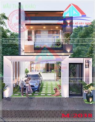 nhà phố 2 tầng đẹp (27)