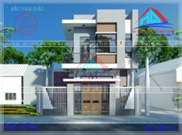 nhà phố 2 tầng đẹp (4)