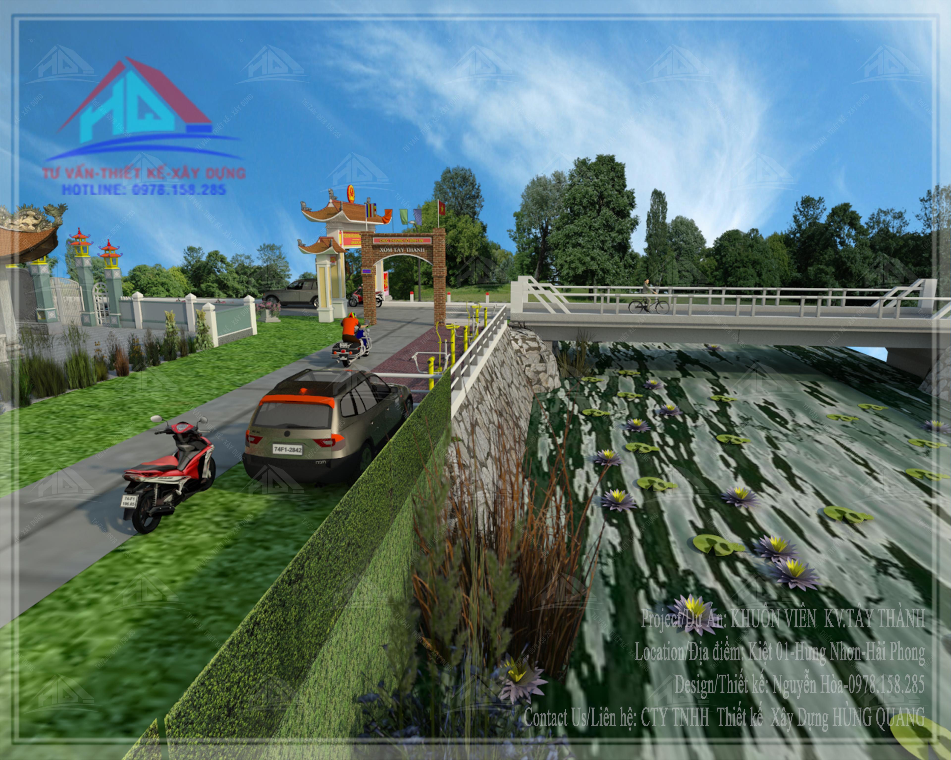 thiết kế công viên đẹp thiết kế chùa đẹp tai quang tri (1)