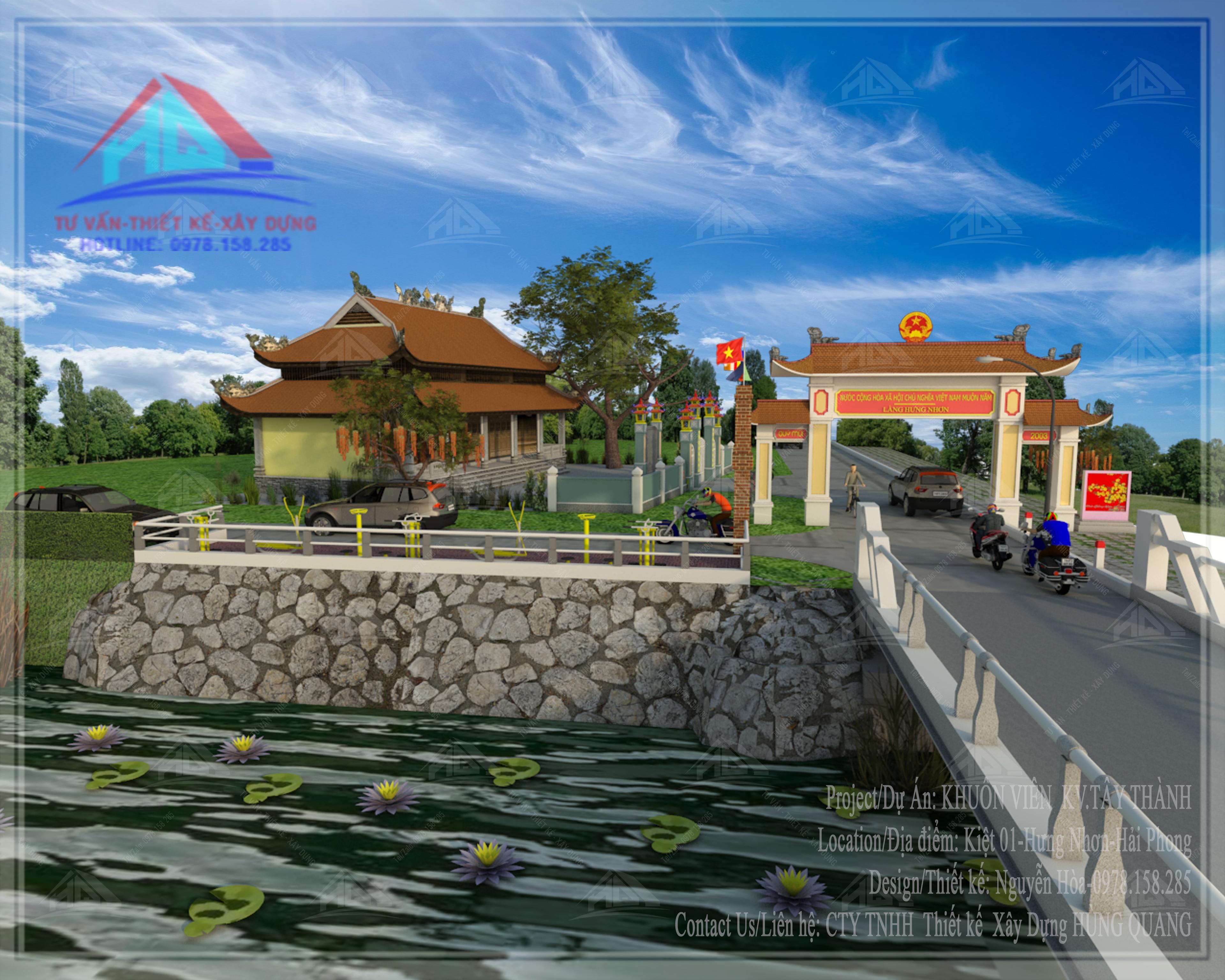 thiết kế công viên đẹp thiết kế chùa đẹp tai quang tri (4)