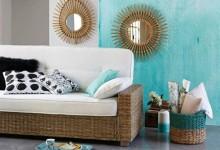 Trang trí nhà cửa đón hè với màu xanh ngọc lam đẹp mắt