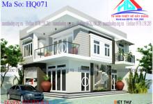 Mẫu thiết kế biệt thự 2 tầng đẹp tại Tân Phong – Biên Hòa