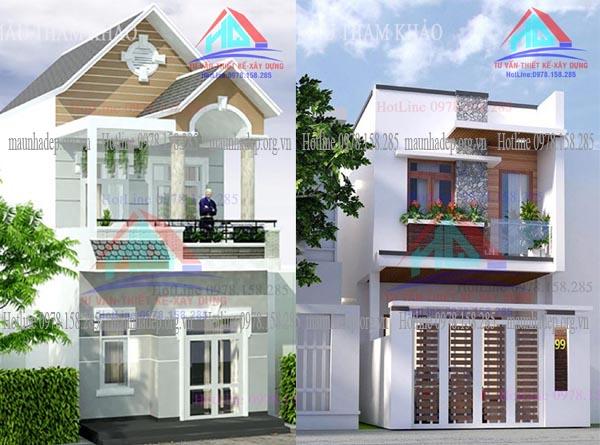 mẫu nhà đẹp 2 tầng (1)